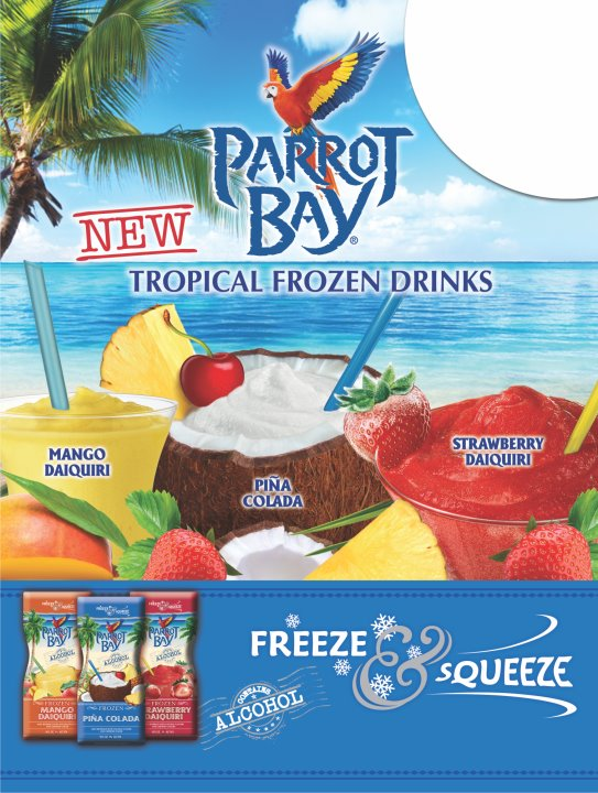 New Parrot Bay Tropical Frozen Drink Pouches are here ...